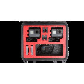SKB iSeries 0907-4 Waterproof Double GoPro Camera Case