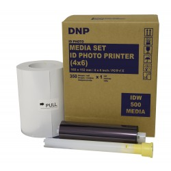 DNP IDW500 Passport 4x6 Print Kit