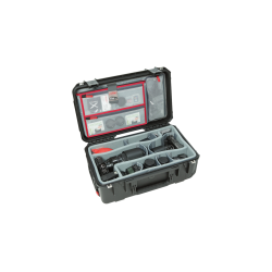 SKB iSeries 3i-2011-7 Case w/Think Tank Designed Dividers and Lid Organizer