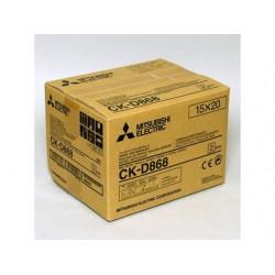 Mitsubishi 4x6/6x8 Print Kit for CP-D80DW